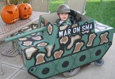 Tank - Creative DIY Cardboard Playhouse Ideas, http://hative.com/creative-diy-cardboard-playhouse-ideas/,