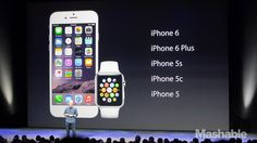 """The Apple Watch and New iPhones: Everything You Need to Know  Apple Tim Cook.  """"Click on"""" the Photo Image to read more. 9.9. 2014, NCO eCommerce, www.netkaup.is"""