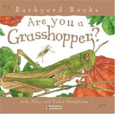 Are You a Grasshopper? (Backyard Books) by Judy Allen  - Go along book for Quiet Way Home