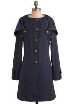 The only article of clothing I'd consider loving more than dress is coats - that's so many wonderful ways to wear a coat and so many interesting designs.