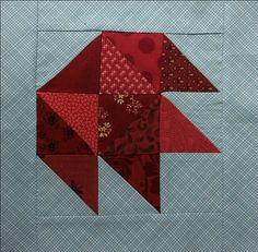 A FREE Maple Leaf Quilt Block Tutorial