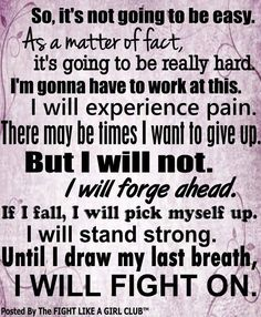 I will fight on...Life with Fibromyalgia/ Chronic Illness