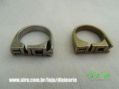 Anel Fuck  www.airu.com.br/loja/dixiearte