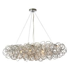 Baya Horizontal Pendant features 8 Light Tubular fixture in Polished Chrome, Gold or Black finish. Eight 60 watt, 120 volt JCD/G9 Halogen bulbs are required, but not included. 41 inch width x 10 inch height x 18 inch depth x 46 inch length.