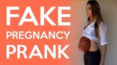 "Fake Pregnancy Prank / I'm Pregnant Prank ""Laugher"" Full Length Interaction Funniest Pranks, Funny Prank Videos, Funny Pranks, Roommate Pranks, Girl Pranks, Fake Pregnancy, Pregnancy Humor, Positive Body Image, Positive Life"
