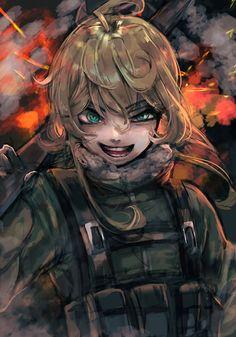 Tanja Degurechaff the Evil - Phone Wallpaper - Anime Wallpaper