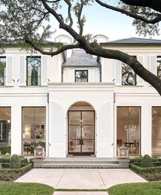 Classic house exterior, classic house design, home design, iron windows, bl Architecture Design, Classic Architecture, Design Architect, Landscape Architecture, Style At Home, Design Exterior, Dream House Exterior, Classic House Exterior, Facade House