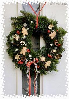 eMimino.cz - Detail fotky Christmas Wreaths, Detail, Holiday Decor, Home Decor, Diy, Christmas, Decoration Home, Room Decor, Home Interior Design
