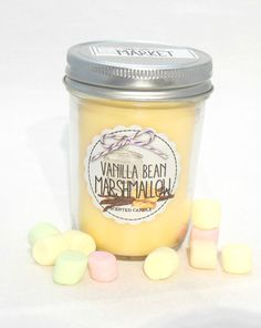 Vanilla Bean Marshmallow Mason Jar bougie Bath & Body Works