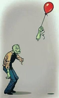 Sometimes it's OK to feel sorry for zombies.