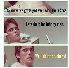 We'll do it for Johnny man