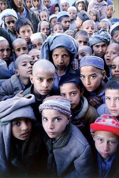 War orphans from Afghanistan - Huerfanos de Guerra en Afganistan - by Nick Rain #PIC