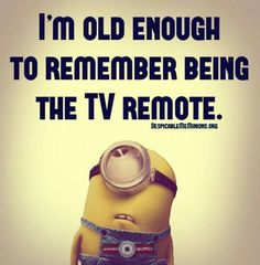 And only having 3 channels!!  If the president was on or any type of breaking news, you were screwed...LOL!!