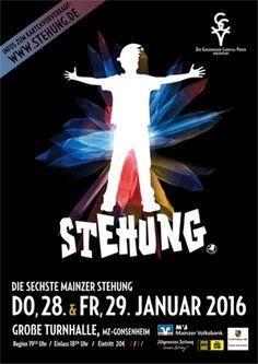 Plakat / Poster #gcv #stehung #mainz