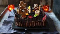 Resultado de imagen para tortas de halloween sangrientas