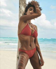 Lusty Lady, Tina Kunakey, Zazie Beetz, Black Magic Woman, Vintage Bikini, Portraits, Celebrity Beauty, Sexy Poses, Beautiful Black Women