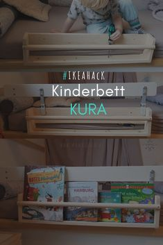 Worth knowing about the crib KURA by Ikea incl. Hack Our to the crib KURA for a Ausausschutzschutz and worth knowing about the bed - Baby Room Boy, Baby Room Decor, Girl Nursery, Ikea Bedroom, Baby Bedroom, Baby Room Design, Nursery Design, Ikea Kura Bed, Ikea Kura Hack