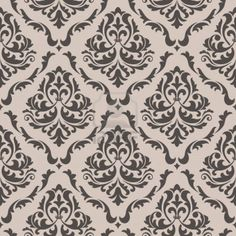 Image result for damask stencil repeating pattern scandinavian