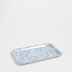DAMASK PRINT TRAY - Trays - Tableware | Zara Home Sweden