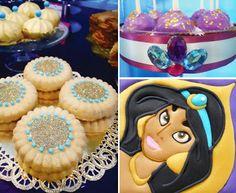 Princesa Jasmine - Decoración de Fiestas de Cumpleaños Infantiles