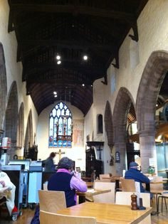 All Saints Church with highly recommended cafe in Hereford