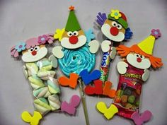 25 Children's day gifts ideas - Aluno On Clown Party, Kids Crafts, Diy And Crafts, Carnival Themes, Party Themes, Circus Birthday, Birthday Parties, Circus Crafts, Children's Day Gift