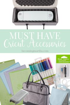 The Cricut accessories that are my must haves, and which ones will help you get even more out of your machine! #cricutexplore #ad