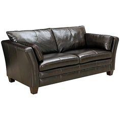 Buy John Lewis Kent Small Sofa, Brown Online at johnlewis.com