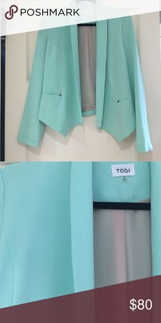 Tobi Blazer Worn once. Recently dry cleaned. Perfect condition. Tobi Jackets & Coats Blazers