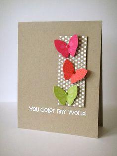 Butterfly card sketch