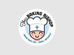 Baking Bishop — Logo, Packaging, Artwork on Behance