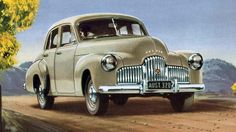 General Motors Holden, 1948, This car started the iconic, Australian motor vehicle industry in Australia. (Original Poster) Holden is Australian, so why do I see so many Chevy badges on Holdens?