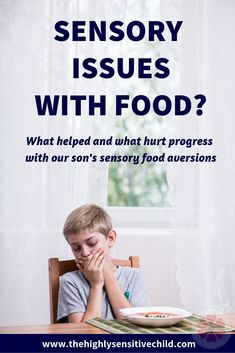 Does your child have challenges with textures, taste or smell of particular foods? Do they prefer crunchy over soft? Do they gag or vomit when eating certain foods? If so, they may have a sensory food aversion. Click to learn the mistakes we made & what strategies we are implementing with our child with the help of a occupational therapist and speech therapist. Are they a picky eater or problem eater? Pin to help others struggling with their kids & mealtimes. #sensory #pickyeaters Sensory Disorder, Sensory Processing Disorder, Highly Sensitive Person Traits, Food Texture, Food Therapy, Speech Therapy, Anxiety In Children, Sensory Issues In Children, Young Children