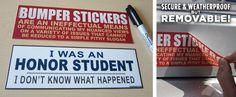 TopatoCo: Removable Bumper Stickers