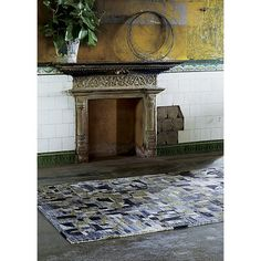 Sale ends soon. Shop Domus Multicolor Geometric Rug The play of light on stained glass in some of Italy's most famous cathedrals inspired this dynamic rug design by Mariella Ienna. Crate And Barrel, Cool Rugs, Geometric Rug, Stained Glass, Domus, Multicolor, Rugs In Living Room, 9x12 Rug, Rug Design