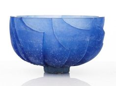 Buy online, view images and see past prices for Ann Robinson, Ice Bowl cast glass height. Invaluable is the world's largest marketplace for art, antiques, and collectibles. Ice Bowl, Kiln Formed Glass, Sandblasted Glass, Cast Glass, Crystal Vase, Glass Ceramic, Traditional Art, Love Art, Stained Glass