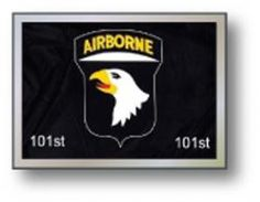 Golf Cart Flags - USA 101st Airborne 11' x 15' Replacement Flag.  Buy it @ ReadyGolf.com