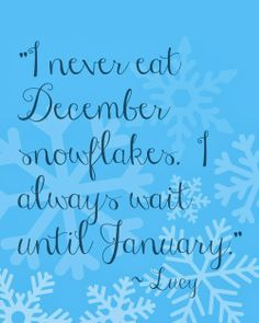 Harris Sisters GirlTalk: Free Winter Printable - Snow - Lucy - Peanuts