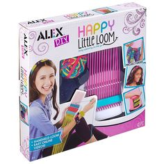b468794db Let's weave unique designs with this kids handheld weaving loom device from  Alex Toys' DIY