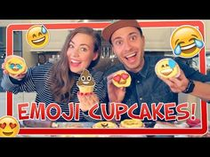 Emoji Cupcakes! (20FURkitchen) | #Furtjuh - YouTube