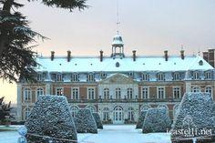 Chateau de Villequoie - Normandy - hotel, full service, so pretty in the snow