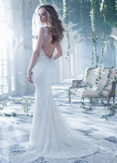 Bridal Gowns, Wedding Dresses by Alvina Valenta - Style AV9400