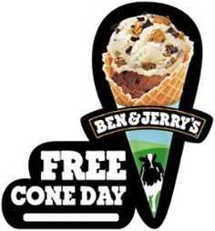 FREE Ice Cream Cone at Ben & Jerrys on April 9th on http://hunt4freebies.com/