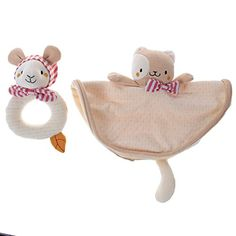Labebe - Baby Toy Set of Cotton (Two Pieces) Labebe…