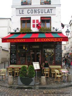 Restaurant on Montmartre - Paris, France