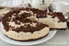 La TORTA MOKA fredda e' un dolce dessert veloce da fare, cremoso, fresco e dall'intenso sapore del buon caffe espresso fatto in casa