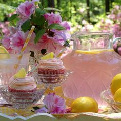Old Fashioned Pink Lemonade