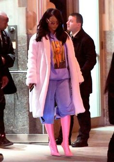 March 17: Rihanna out in NYC
