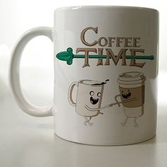 Coffee Time Adventure Time Mug Two Side 11 Oz Ceramic Mug http://www.amazon.com/dp/B00VFIC5QI/ref=cm_sw_r_pi_dp_JgFjvb0K8CXC6