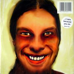 My fav. Aphex Twin Cd. Extremely trippy and terrifying!! Creepy Cd cover #Ambient